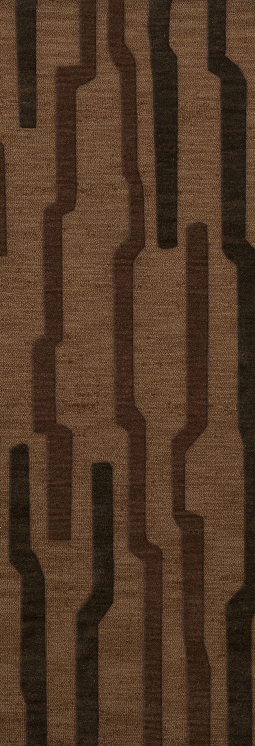 Hartranft Wool Clove Area Rug Rug Size: Runner 2'6