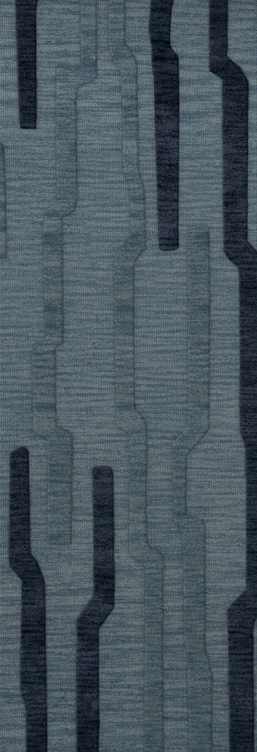 Hashimoto Wool Saltwater Area Rug Rug Size: Runner 2'6