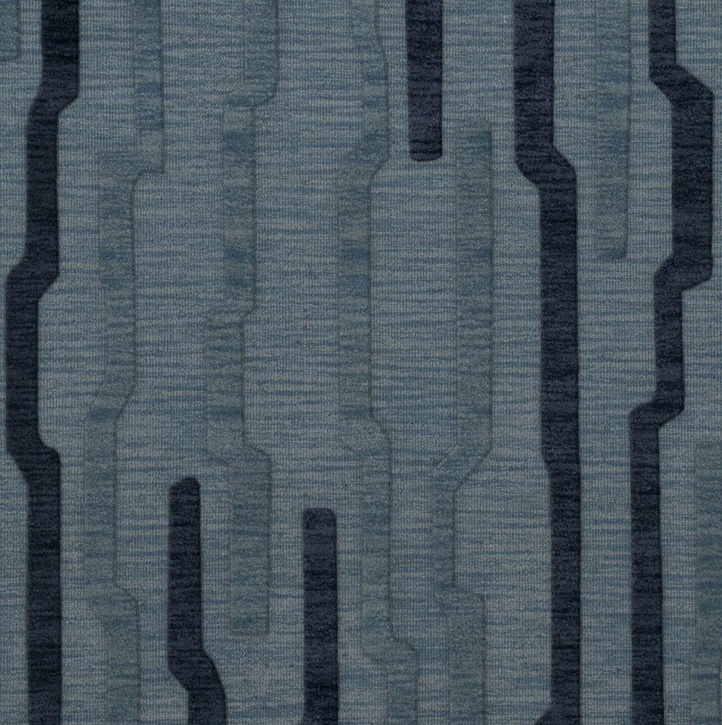 Hashimoto Wool Saltwater Area Rug Rug Size: Square 6'