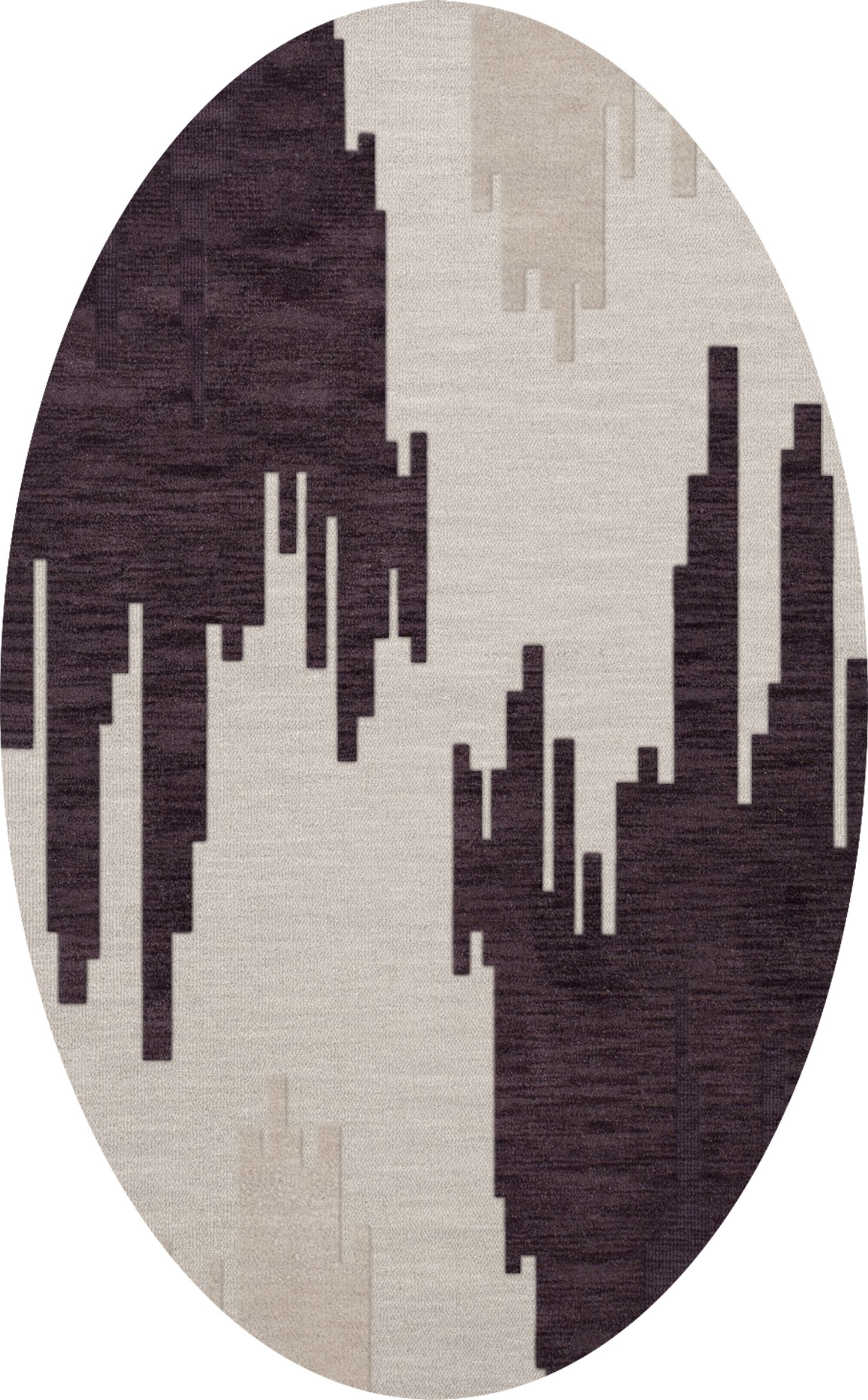 Hassell Wool Royalty Area Rug Rug Size: Oval 9' x 12'