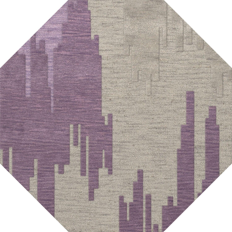 Haslett Wool Thistle Area Rug Rug Size: Octagon 8'
