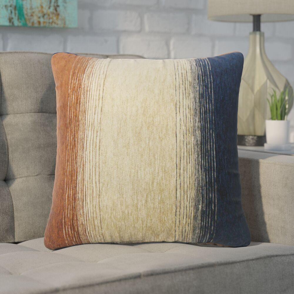Wigington Ombre Down Filled Throw Pillow Size: 24