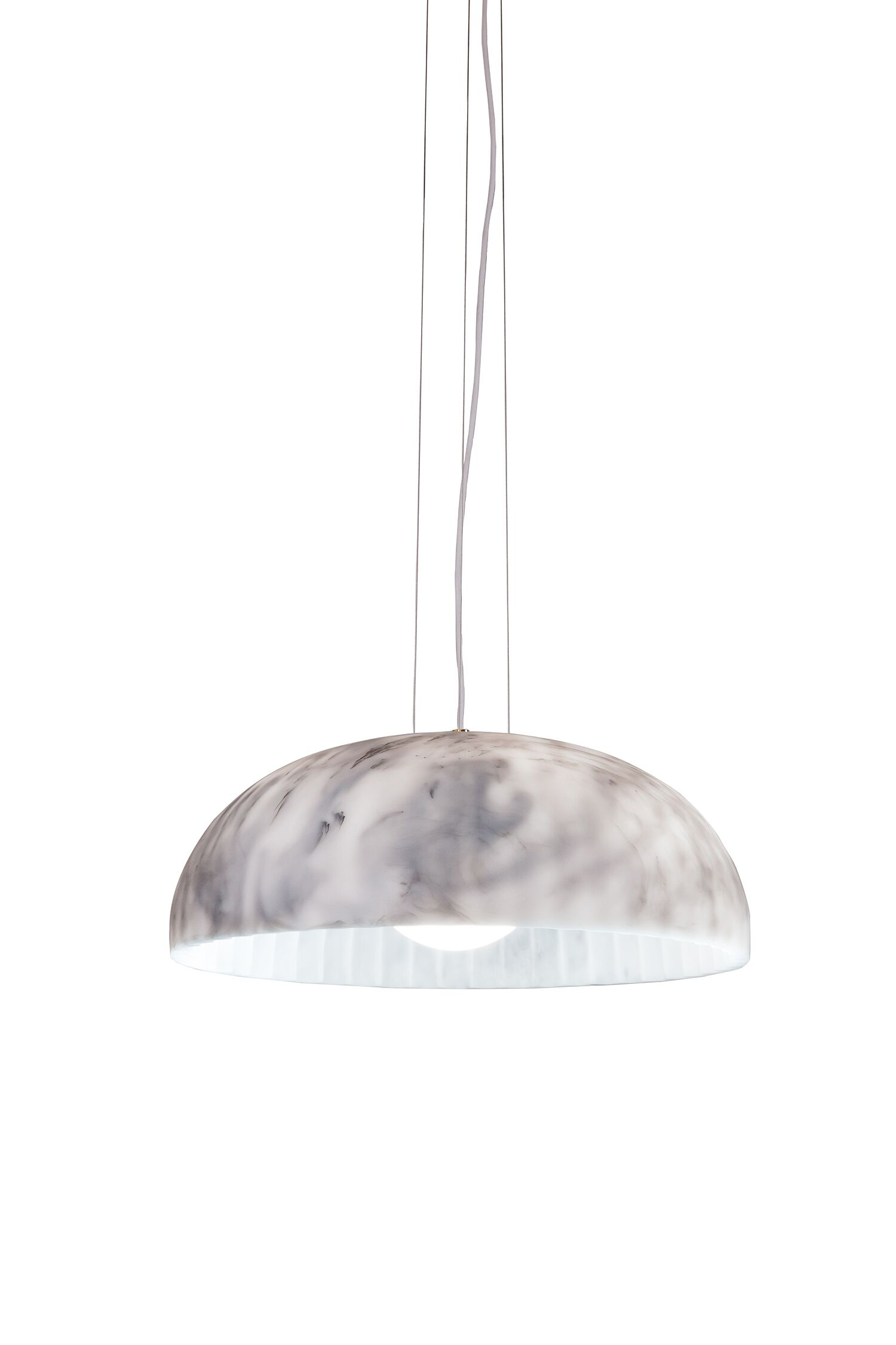 Doric 1-Light Pendant Finish: Matte White