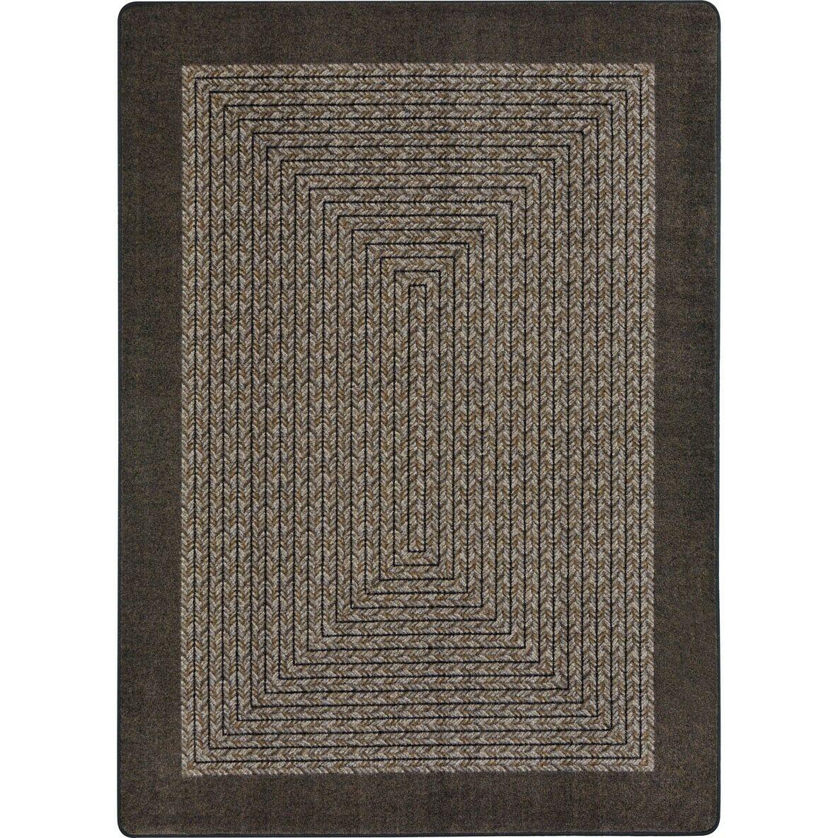 Constantine Chocolate Area Rug Rug Size: 7'8