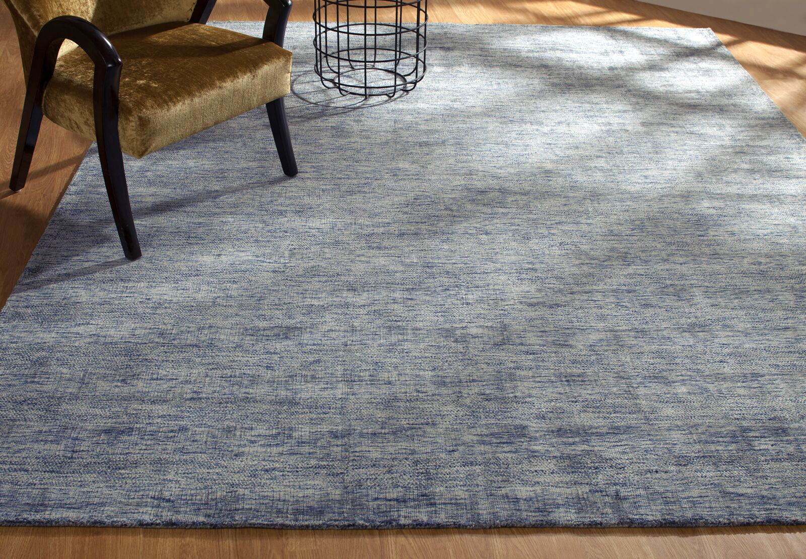 Shirlee Heather Hand-Knotted Gray Area Rug Rug Size: Rectangle 8'6