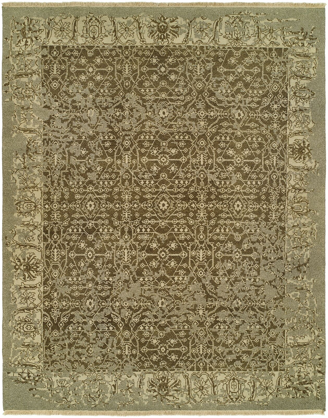 Groat Wool Brown Area Rug Rug Size: Rectangle 9' x 12'