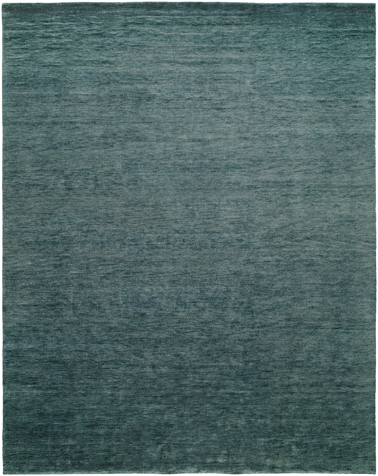 Decker Hand-Knotted Wool Blue Area Rug Rug Size: Rectangle 4' x 6'