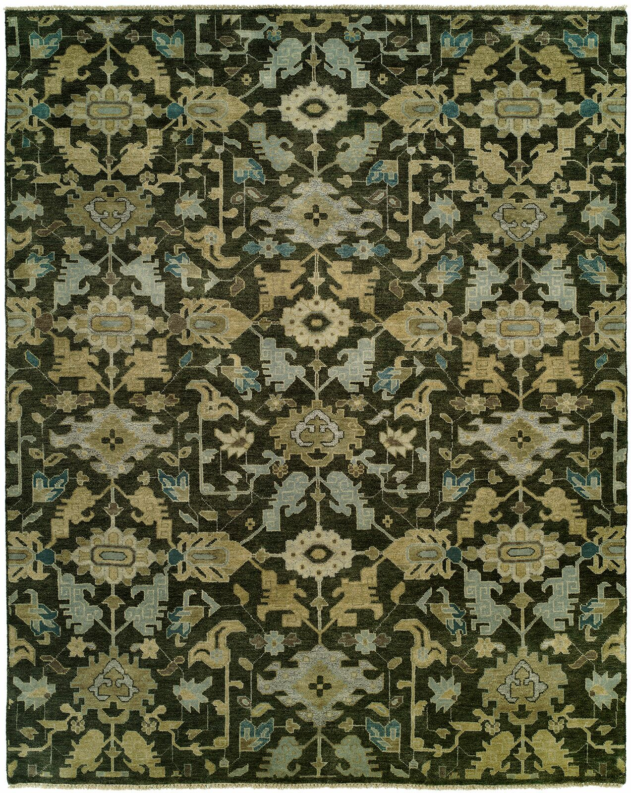 Bhavin Hand Knotted Wool Brown Area Rug Rug Size: Runner 2'6