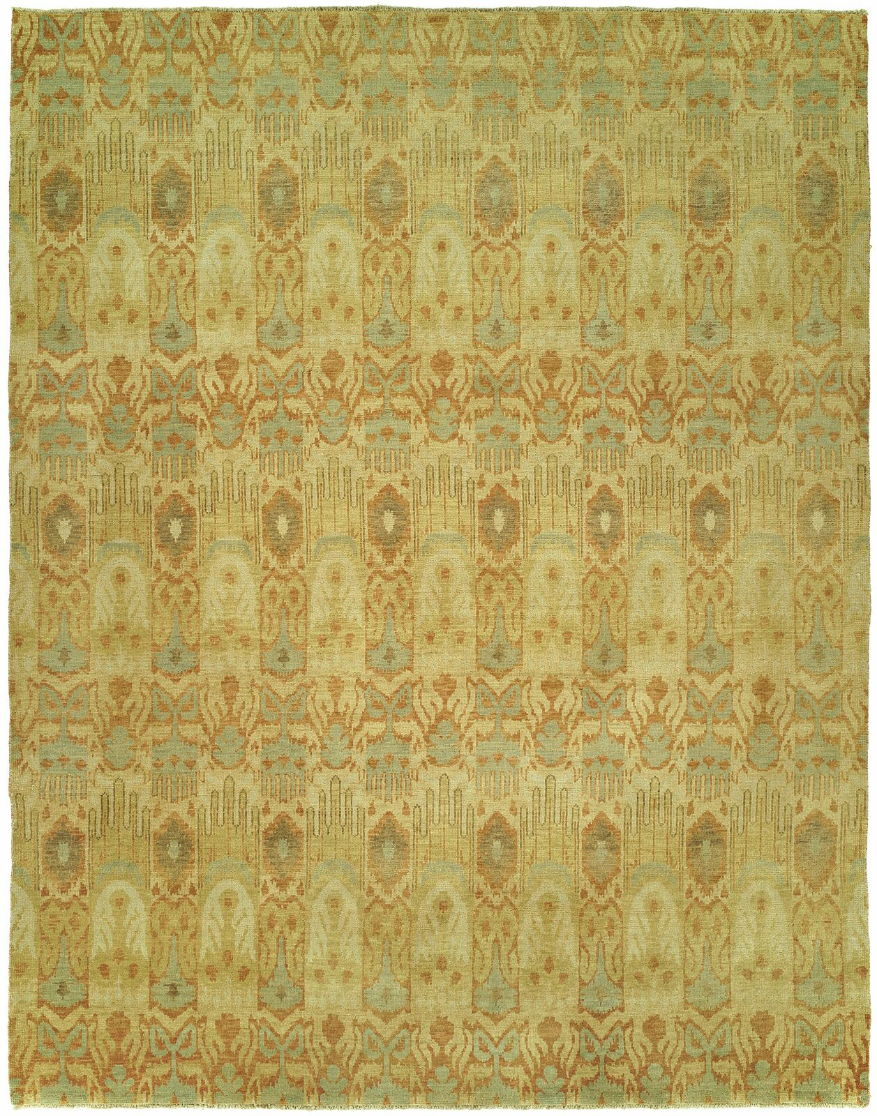 Harte Hand Knotted Wool Beige Area Rug Rug Size: Rectangle 4' x 6'