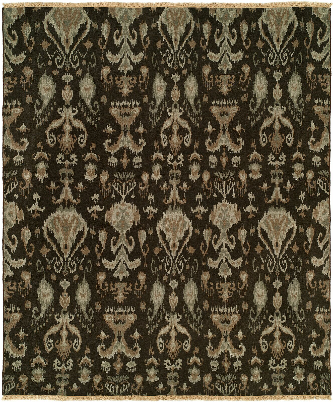 Gunning Wool Brown Area Rug Rug Size: Runner 2'6