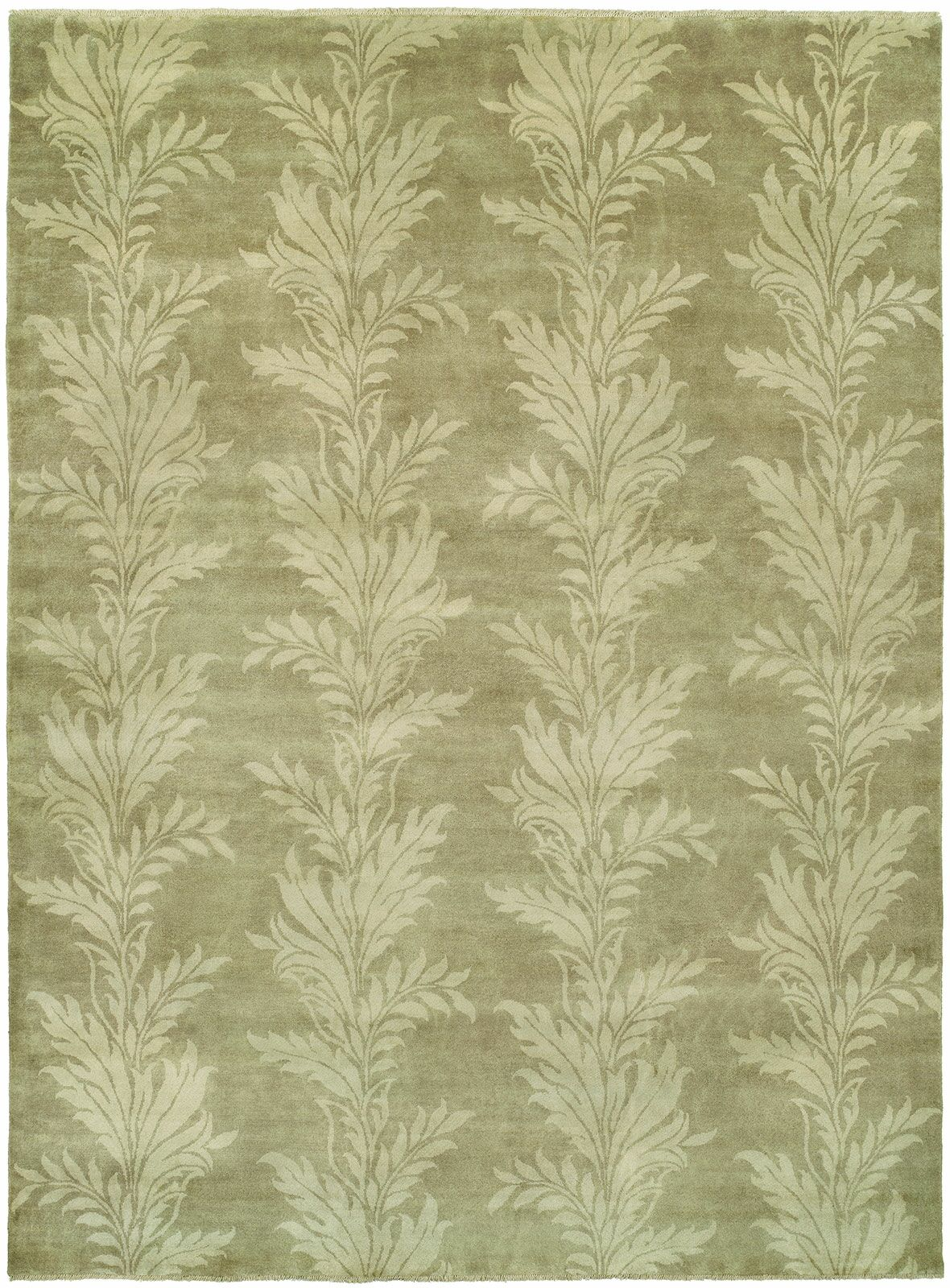 Jérémy Hand-Knotted Wool Beige Area Rug Rug Size: Rectangle 4' x 6'