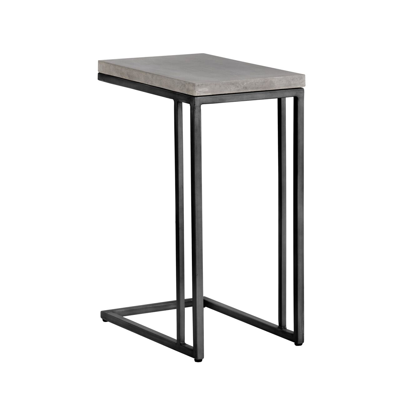 Solterra C-Shaped End Table