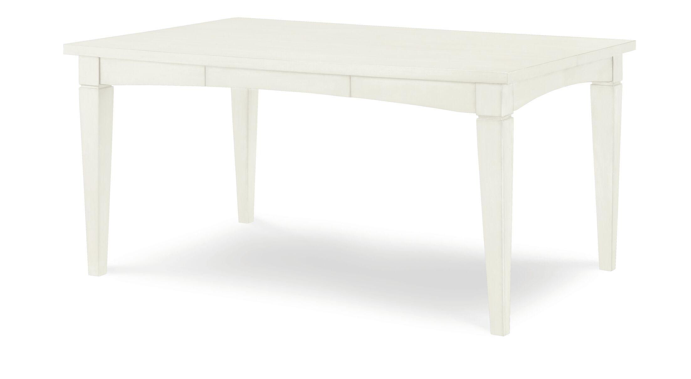 Gathering Table Leg Color: Sea Salt