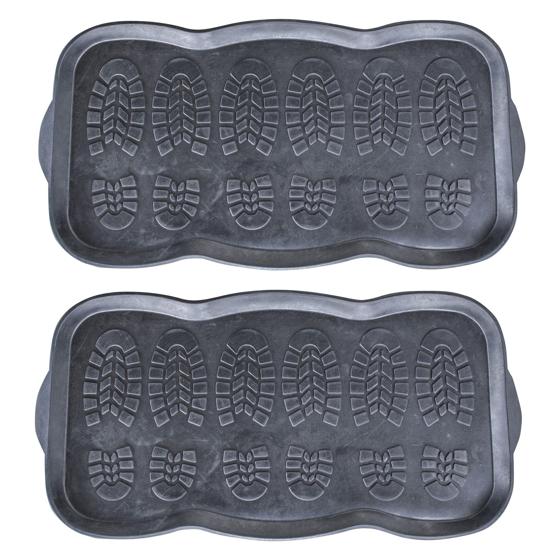 Rubber Boot Trays and Scraper