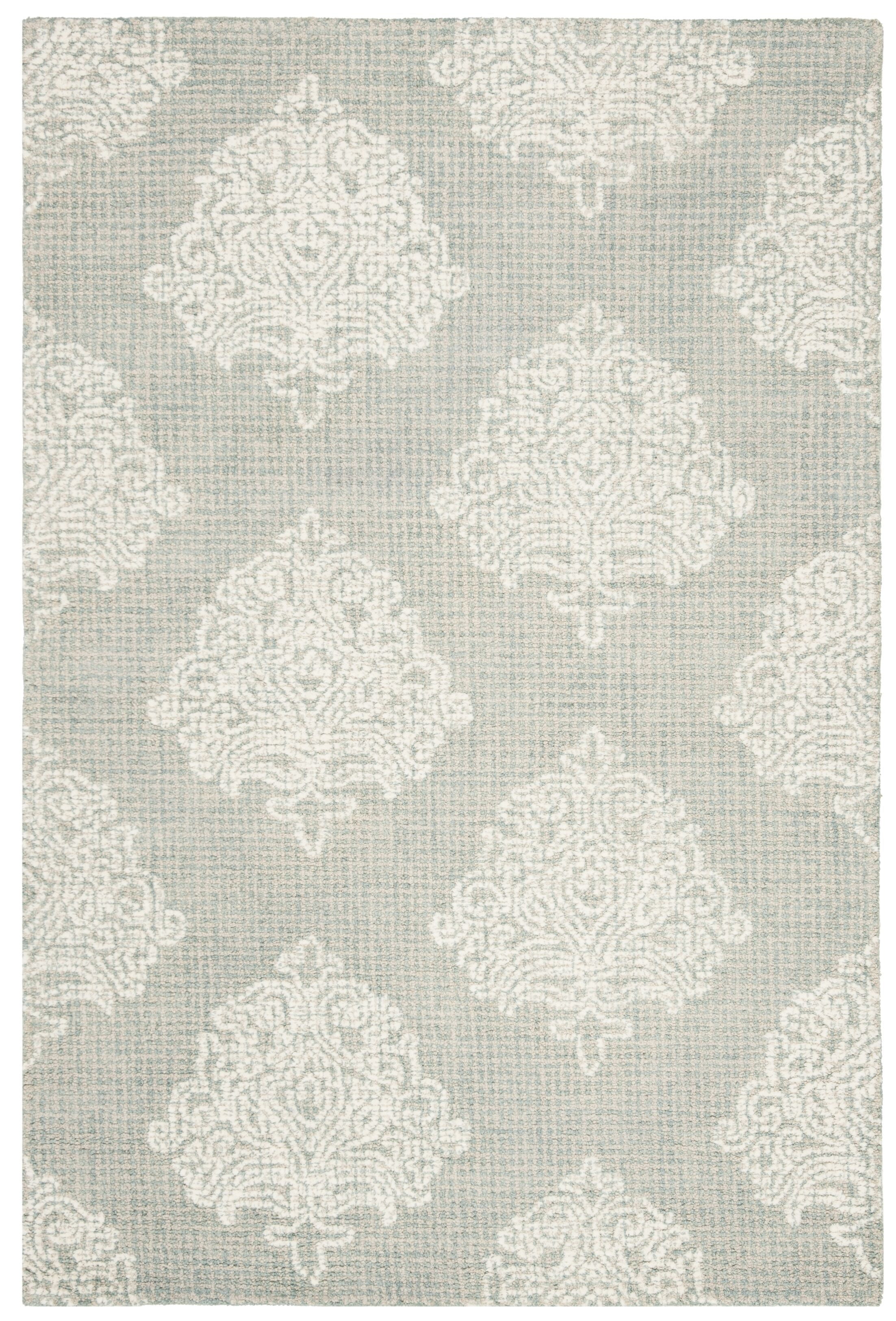 Sulema Hand-Tufted Wool Beige Area Rug Rug Size: Round 6' x 6'