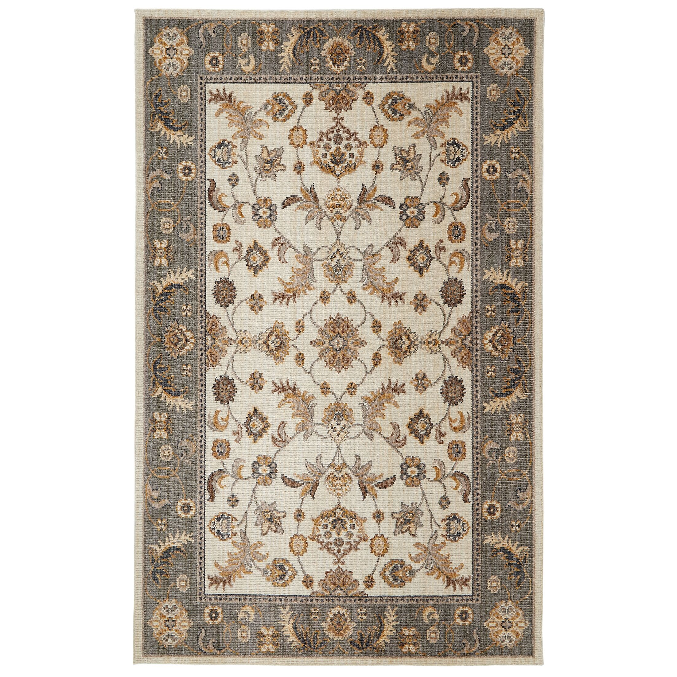 Kaliyah Beige Area Rug Rug Size: Rectangle 7'6