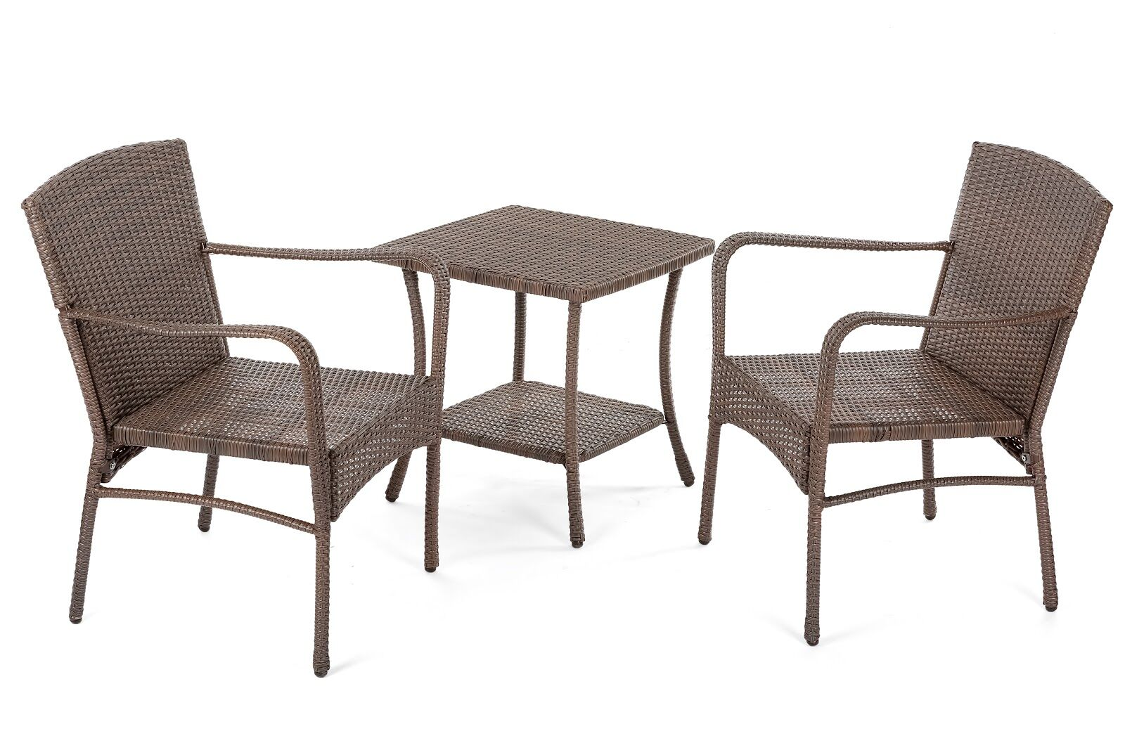 Warrick Outdoor Garden 3 Piece 2 Person Seating Group