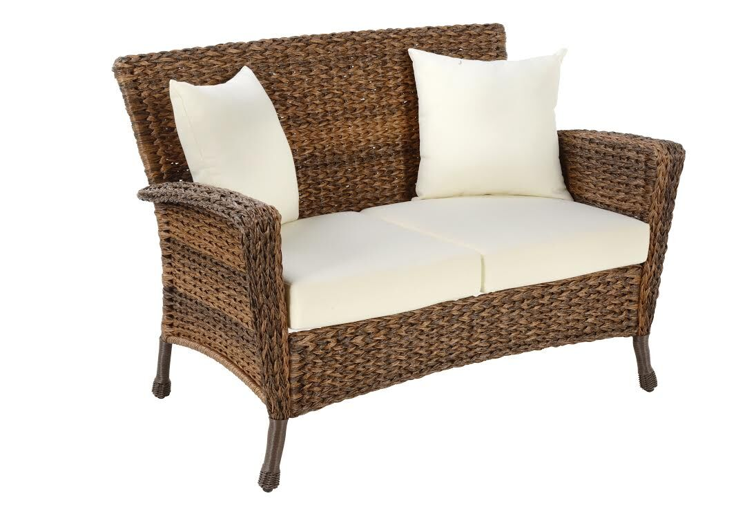 Woolford Outdoor Loveseat with Cushions