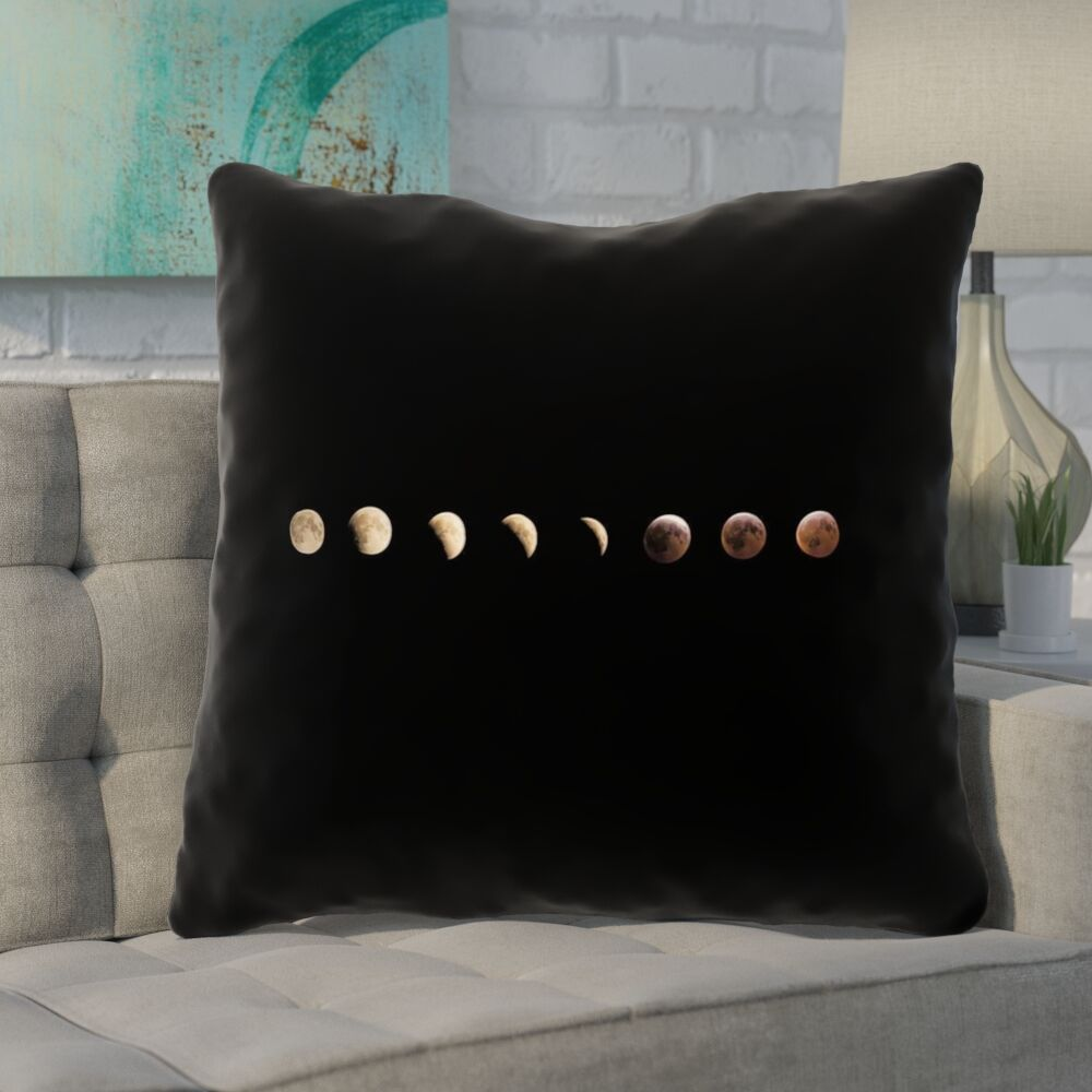Shepparton Moon Phases Indoor Euro Pillow