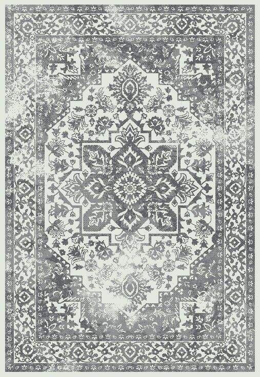 Yannick Heather Gray Area Rug Rug Size: Rectangle 7'10