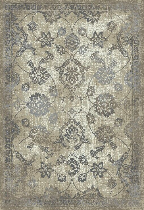 Passyunk Antique Beige/Gray Area Rug Rug Size: Rectangle 8' x 11'