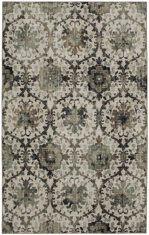 Kendal Gray Area Rug Rug Size: 8'x10'