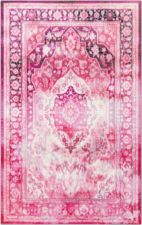 Blair Pink Area Rug Rug Size: 8'x10'