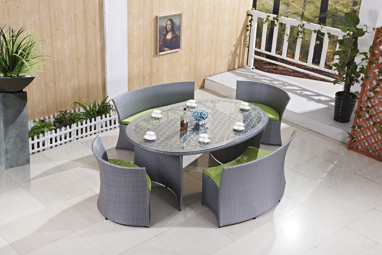Steiner 5 Piece Dining Set with Cushion