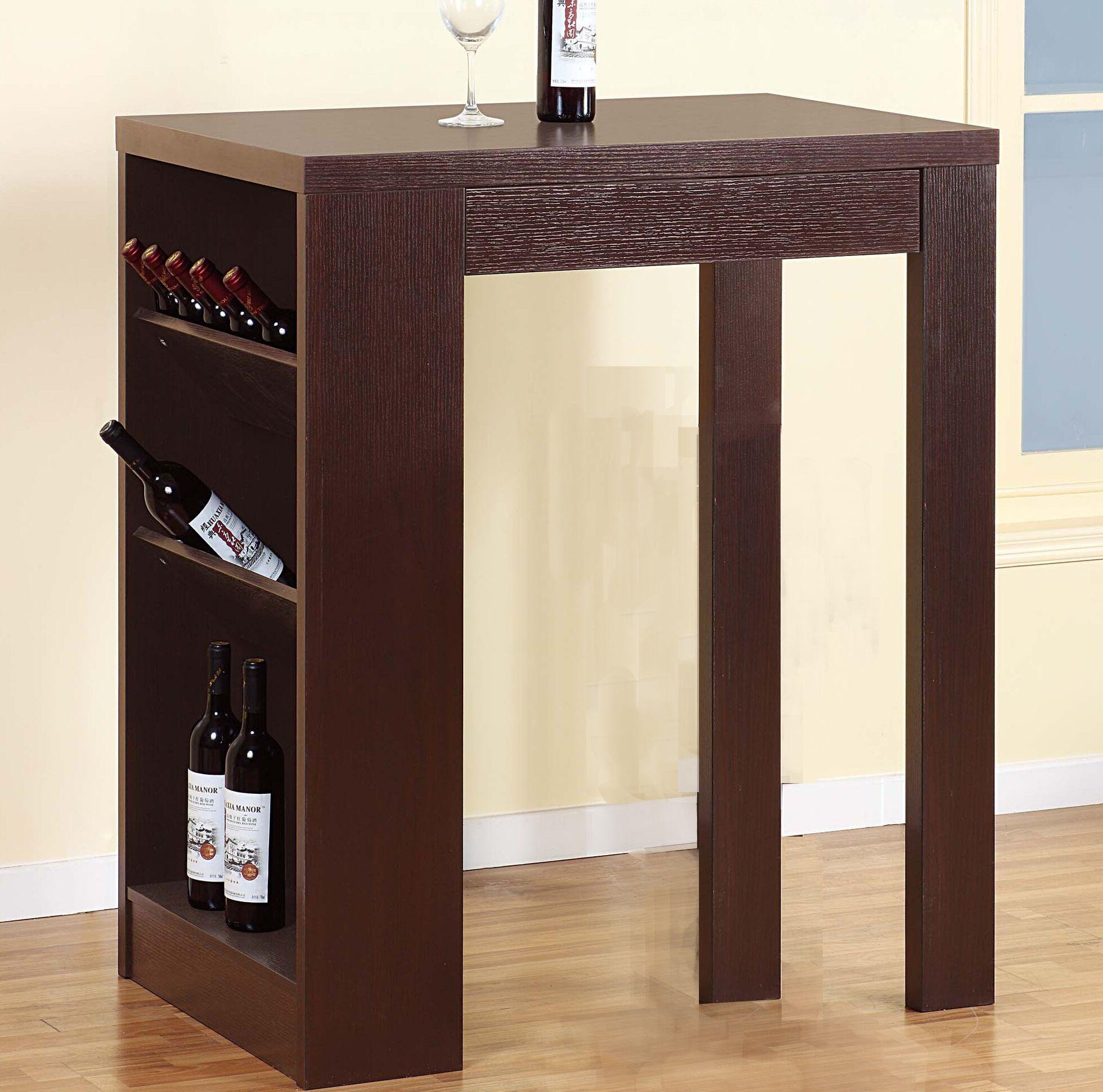 Waites Stylish Bar with Wine Storage