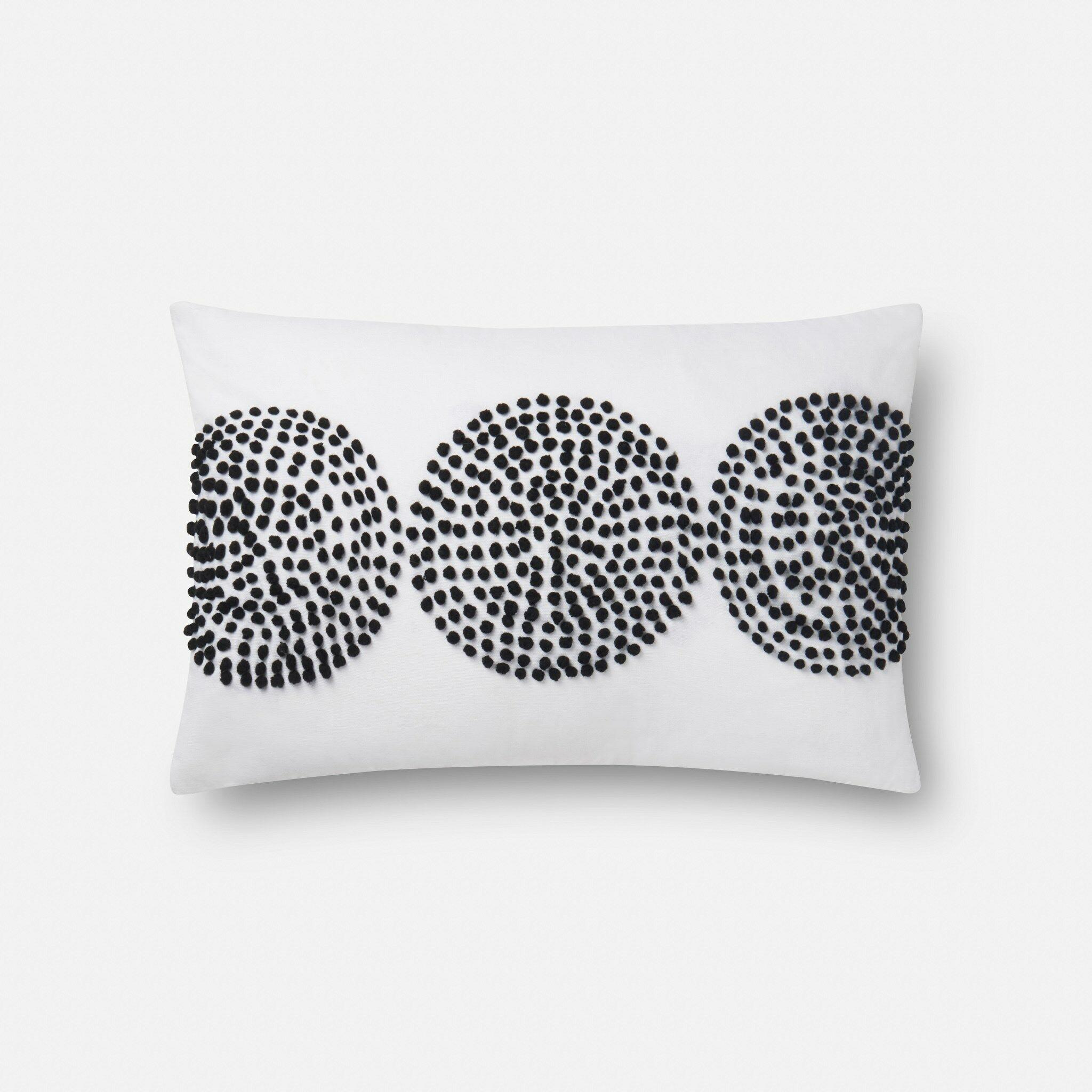 100% Cotton Pillow Type: Lumbar Pillow, Fill Material: Polyester