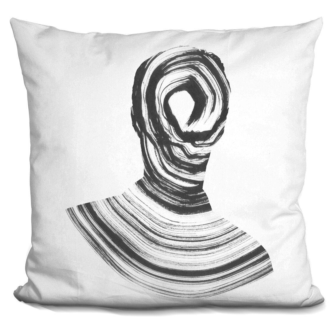 Disconnect Throw Pillow