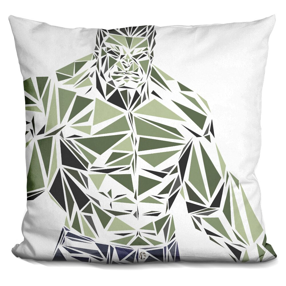 Hulk I Throw Pillow