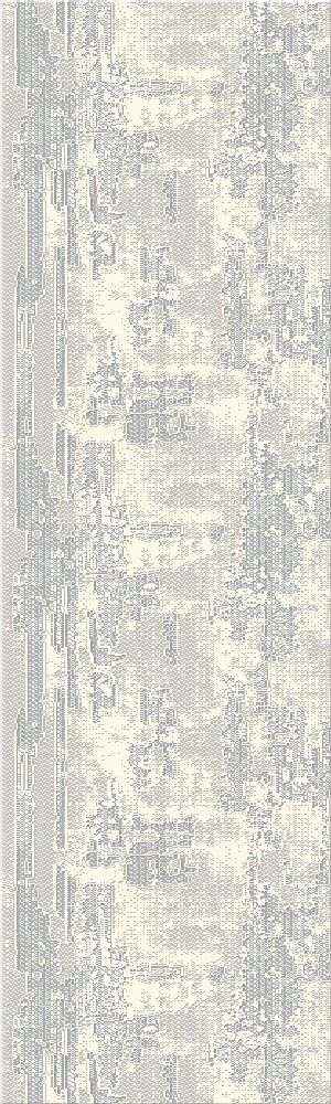 Crider Gray Area Rug Rug Size: Runner 2'3