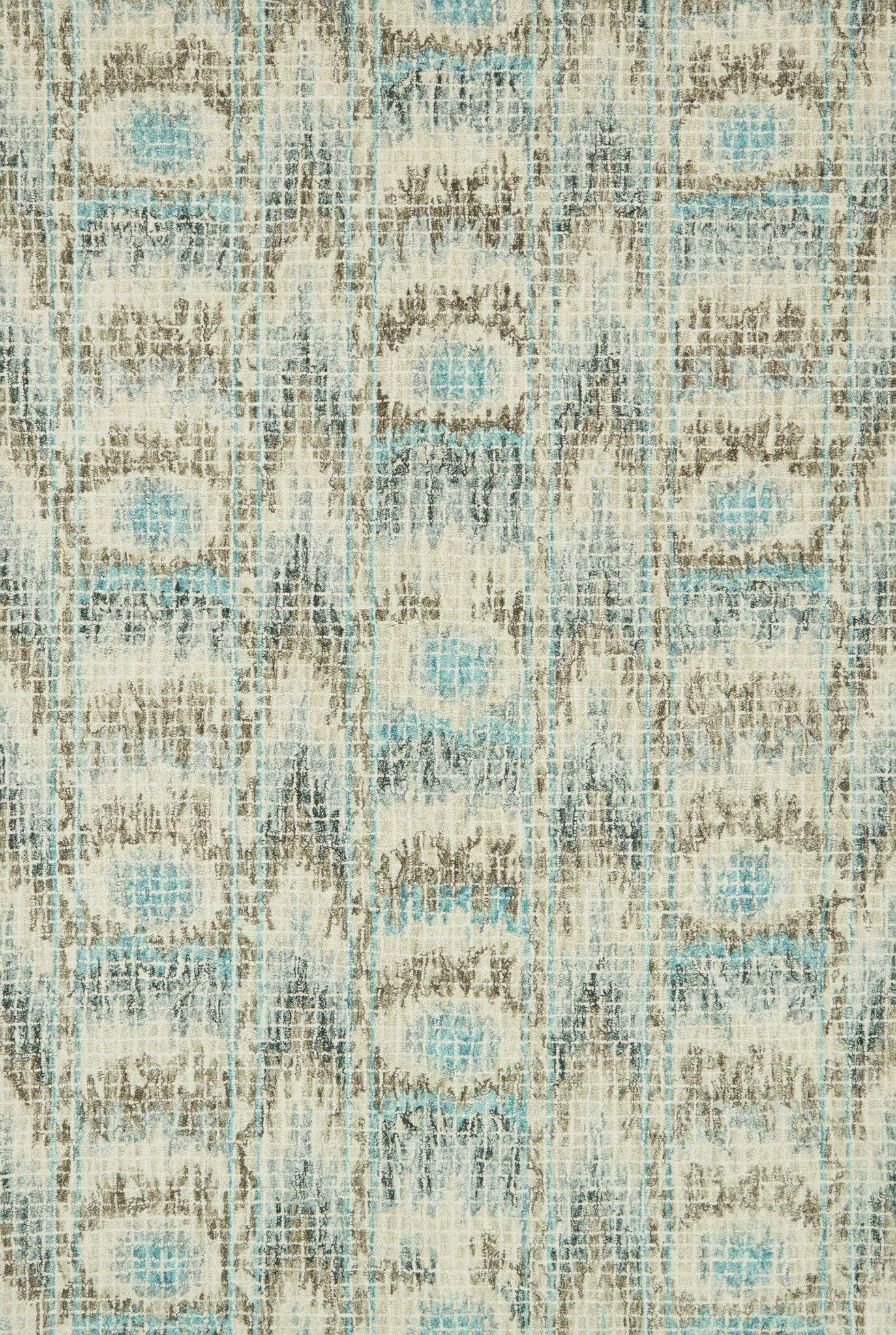 Zeinab Hand Hooked Wool Blue/Turquoise Area Rug Rug Size: Rectangle 9'3