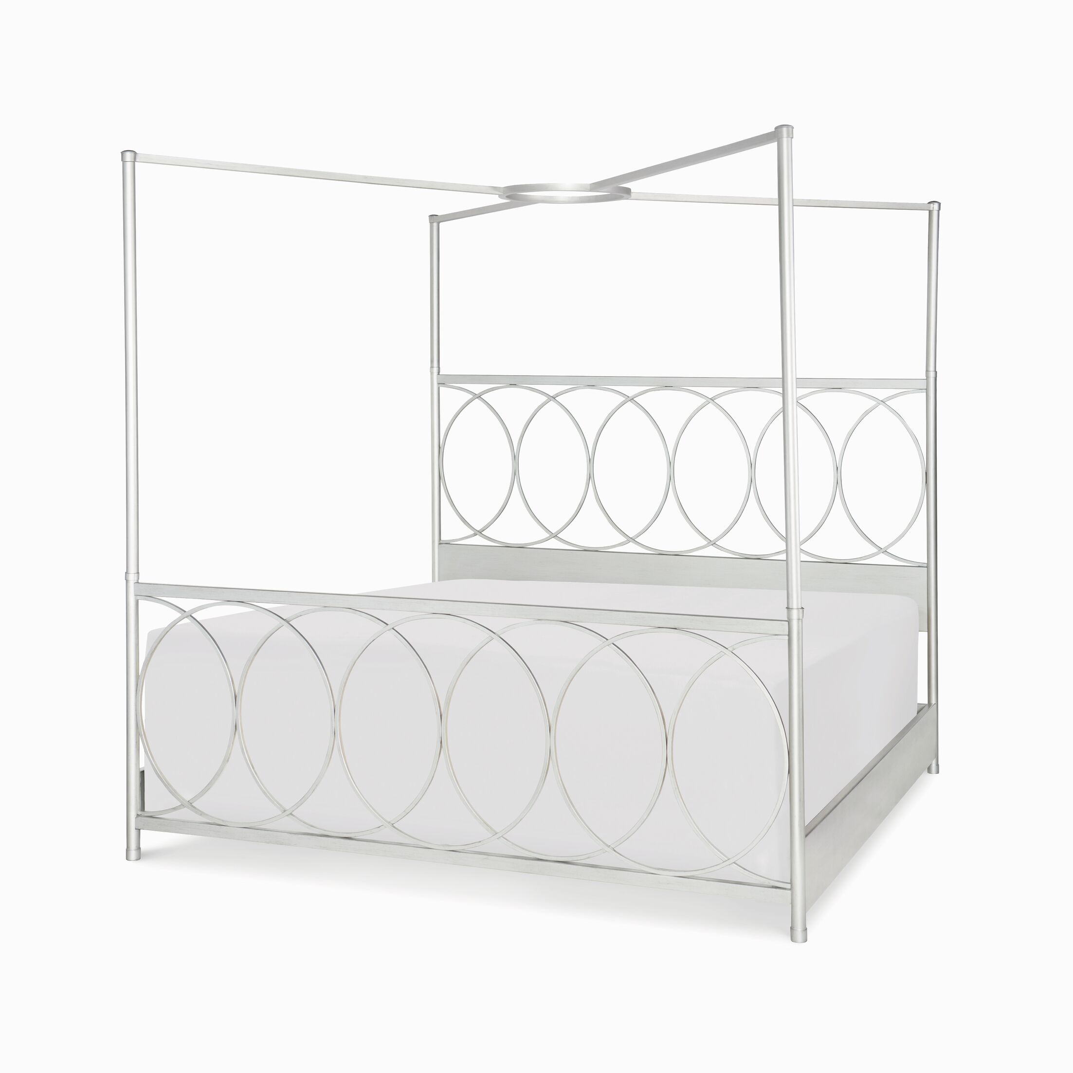 Cinema Canopy Bed Size: King
