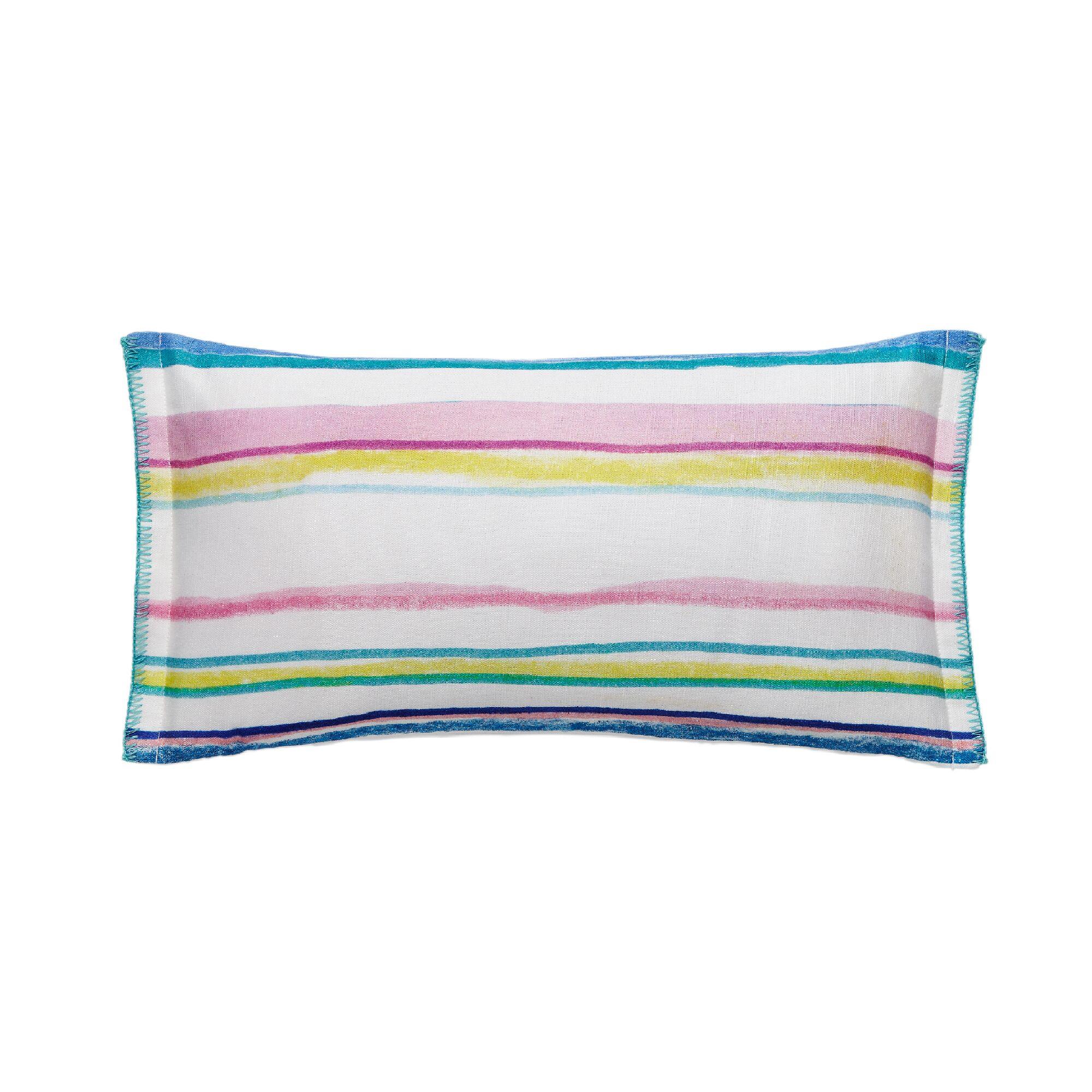 Kech Stripe 100% Cotton Throw Pillow