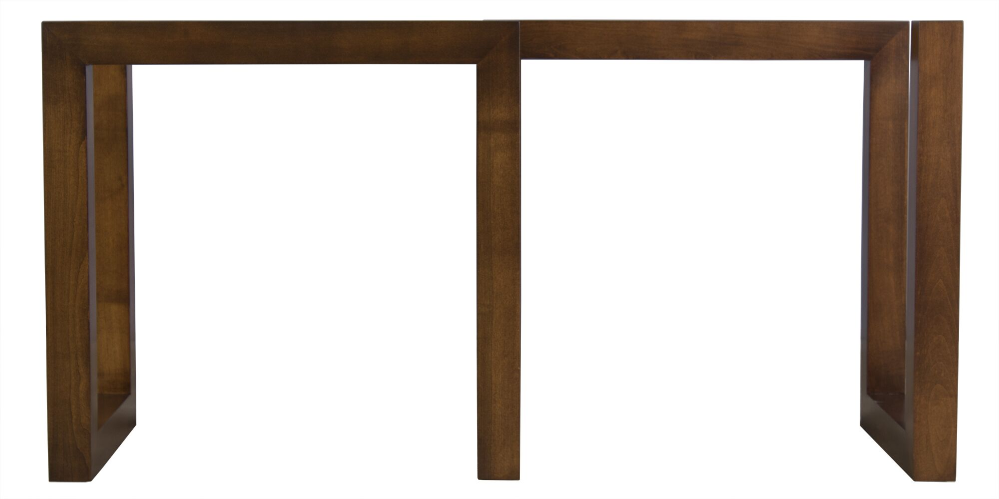 Reesa Dining Table Base Color: Walnut, Size: 56