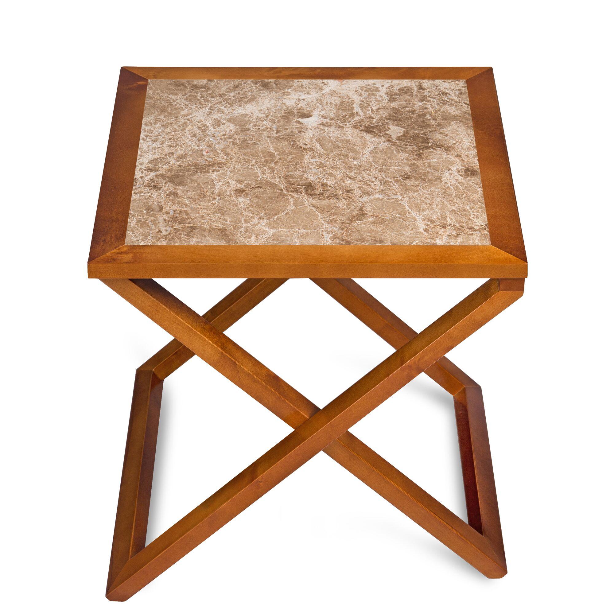 Union Craft Marron Light End Table