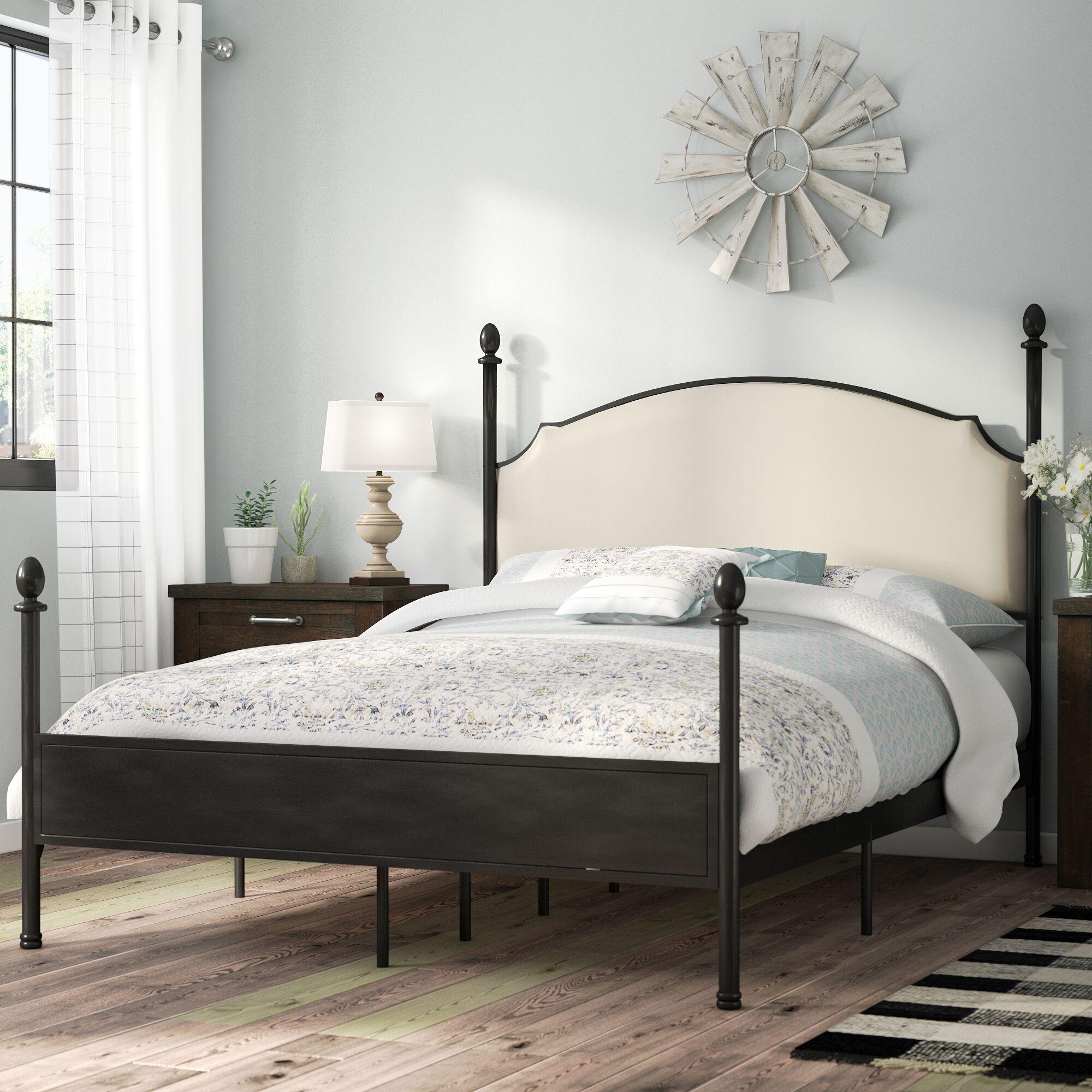 Granite Range Four Poster Bed Size: California King