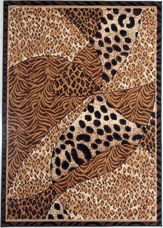 Destefano Brown Area Rug Rug Size: Rectangle 7'11