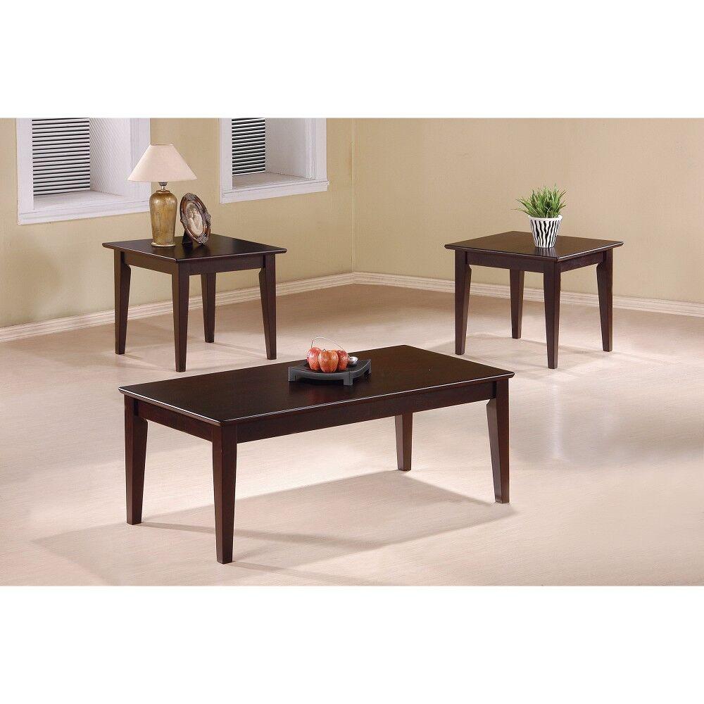 Kizer 3 Piece Coffee Table Set