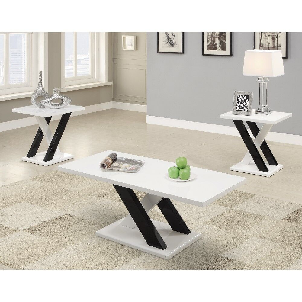 Murby Wooden 3 Piece Coffee Table Set