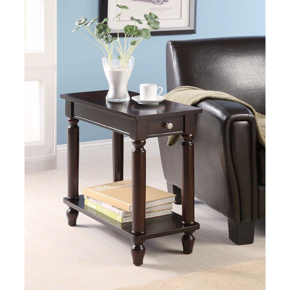 Kimmons Elegant Wooden End Table
