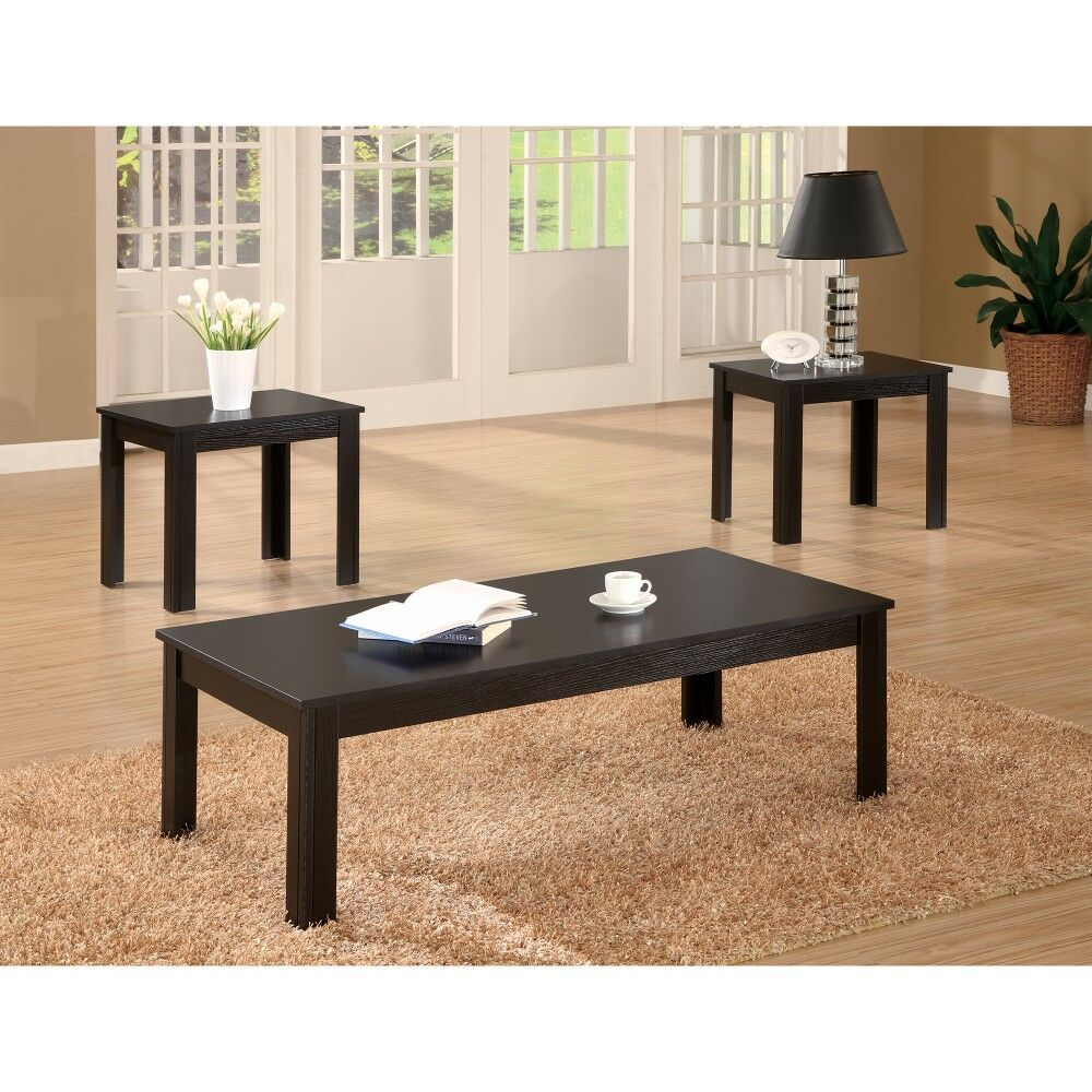 Jenkintown Attractive 3 Piece Coffee Table Set