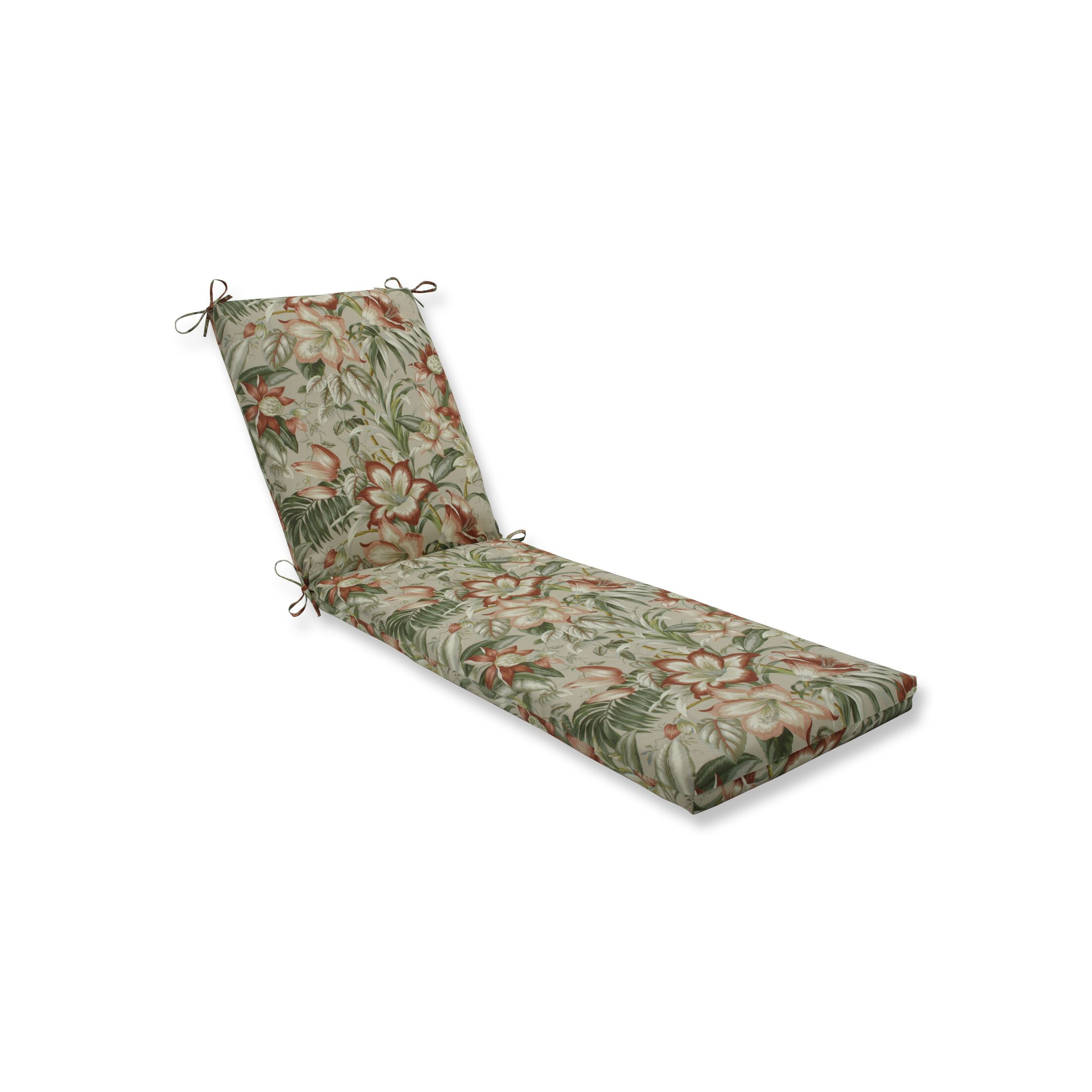 Botanical Indoor/Outdoor Chaise Lounge Cushion