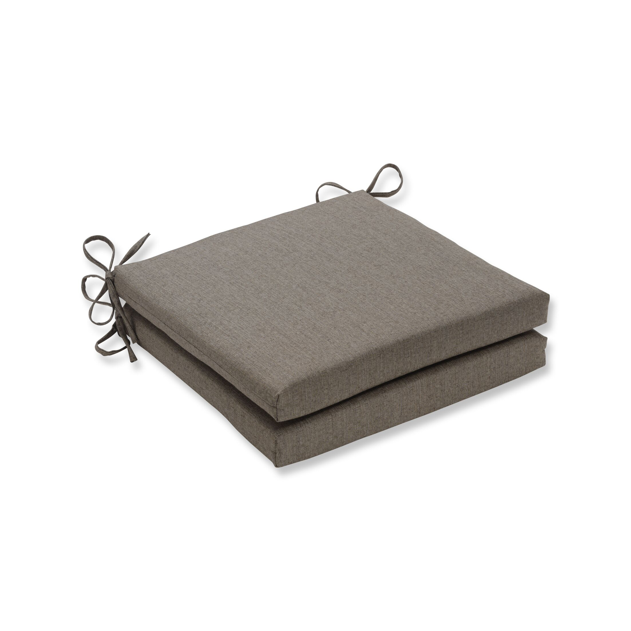 Indoor/Outdoor Dining Chair Cushion Fabric: Sesame