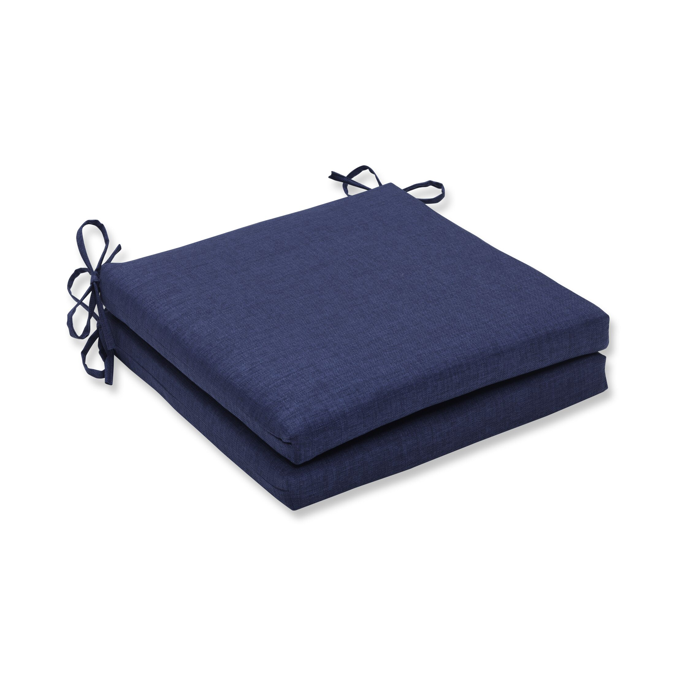 Indoor/Outdoor Dining Chair Cushion Fabric: Dark Navy