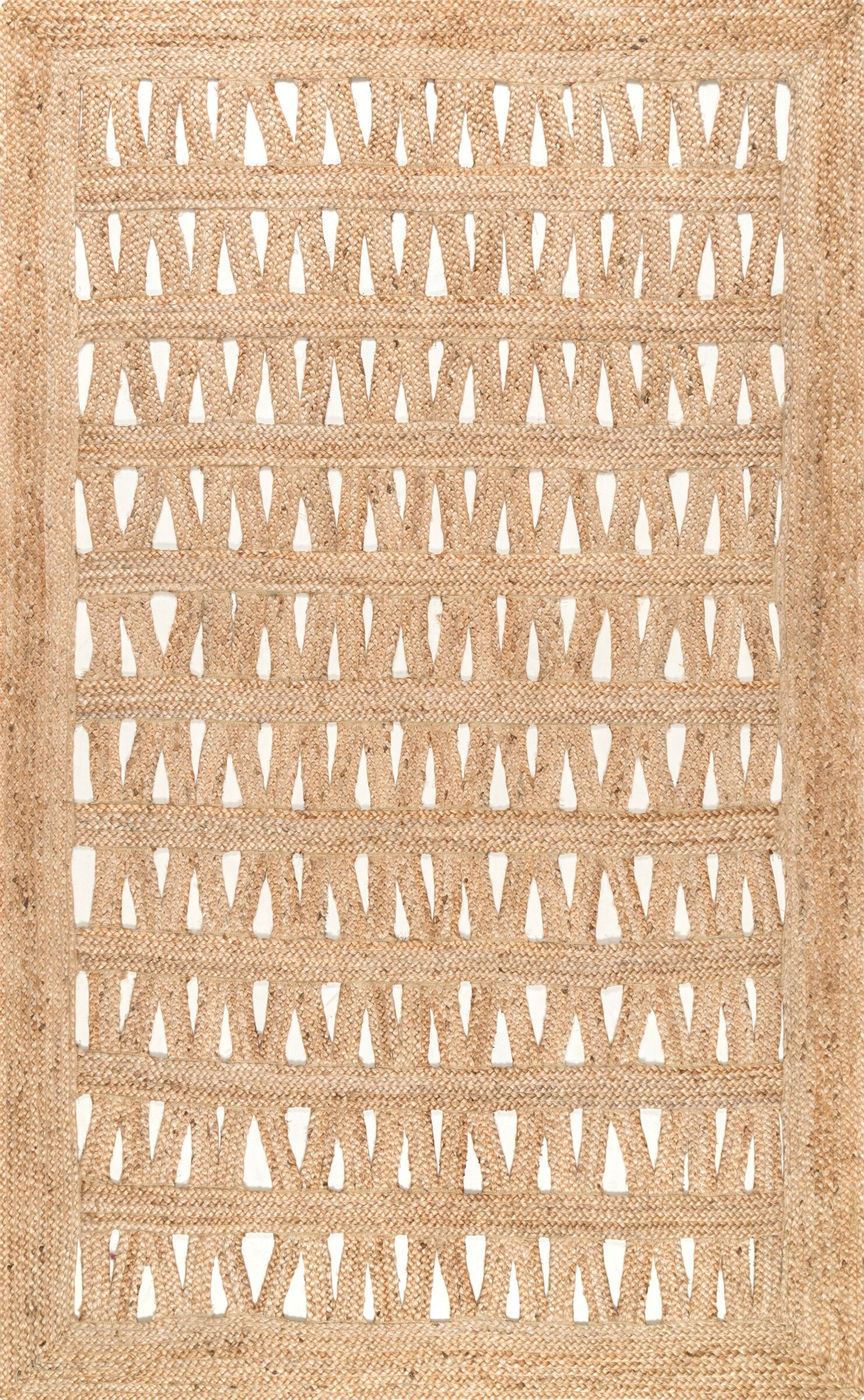 Dianah Cream Area Rug Rug Size: Rectangle 7'6