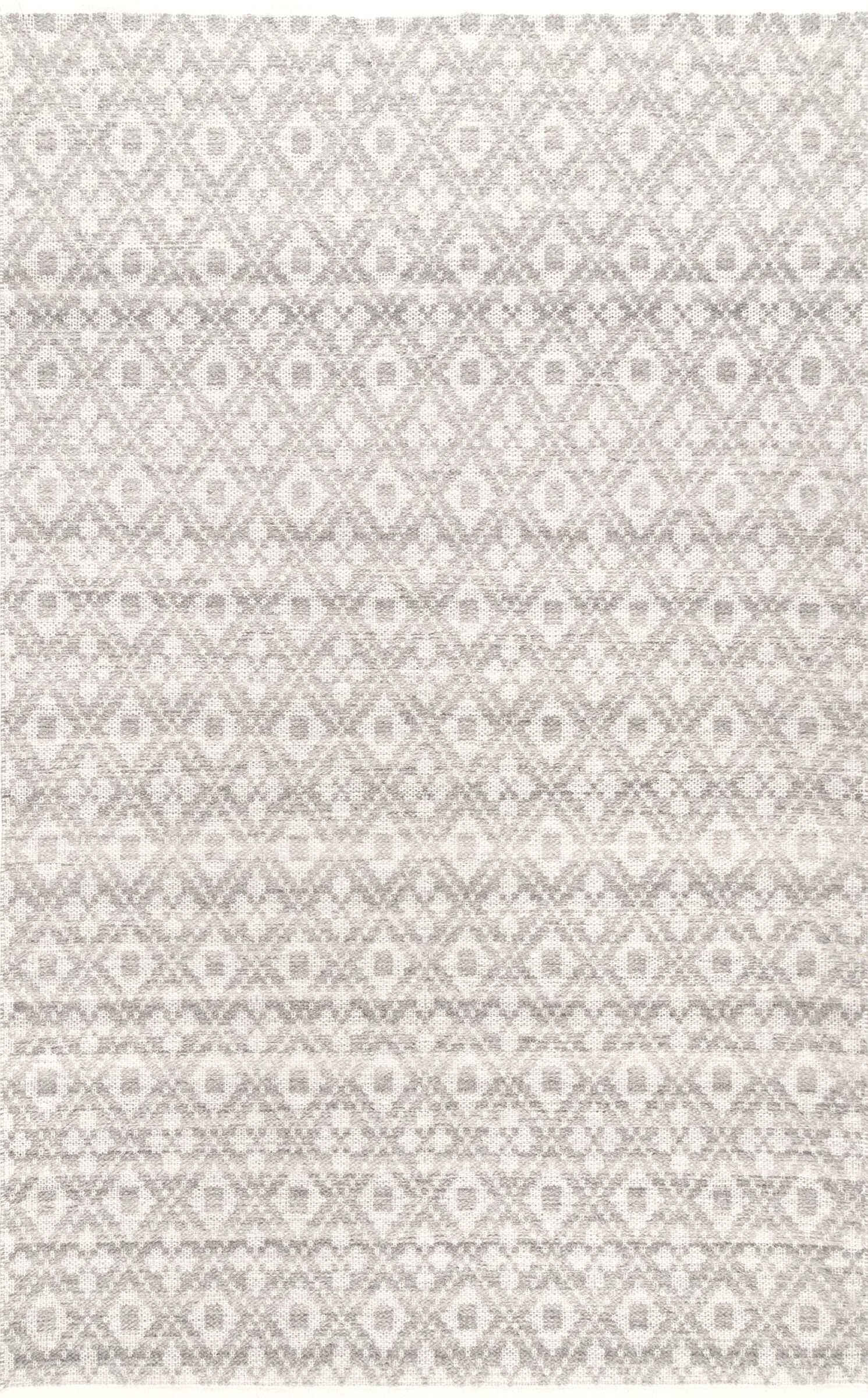 Lomanto Gray Area Rug Rug Size: Rectangle 7'6