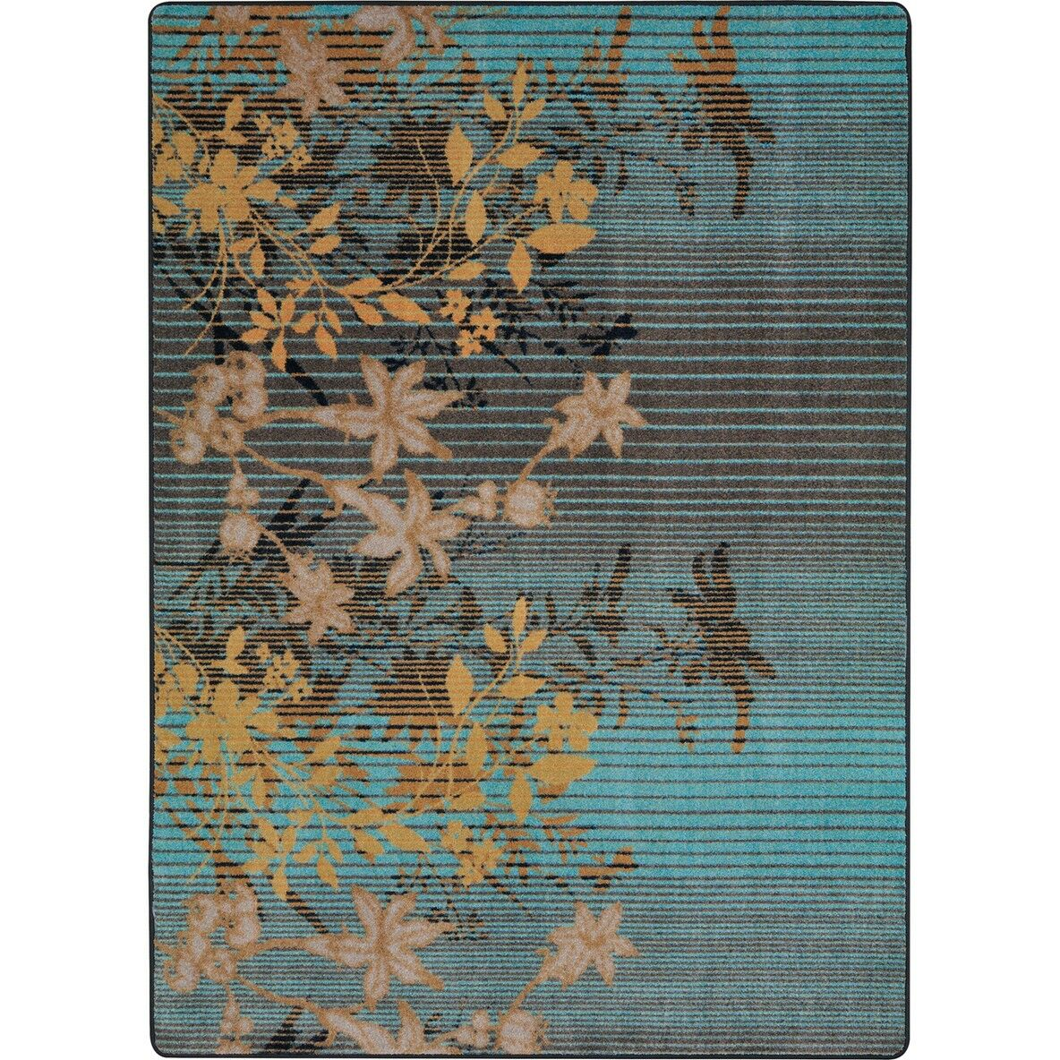 Thao Blue/Gray Area Rug Rug Size: Rectangle 3'10